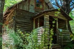 Unsere Hütte ...