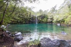 Saltos del Petrohué - die Lagune vom zweiten Rundweg
