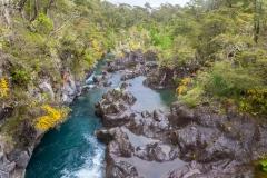 Saltos del Petrohué - ein weiterer Zulauf zu den Fällen
