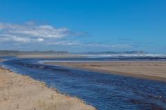 Nationalpark Chiloé - am Strand nach den Dünen