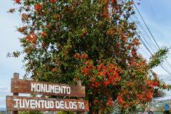 Chiloé - Quellón - und noch ein Denkmal, für die Jugend