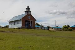 Chiloé - Cailin - die Kirche für 500 Einwohner