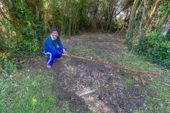 Chiloé - Cailin - auf dem Spieß ist sonst noch ein Lamm