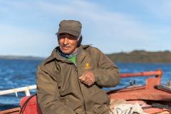 Chiloé - Cailin - der Großvater von Nikolai