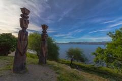 Bariloche - die Stadt liegt direkt am Lago Nahuel Huapi