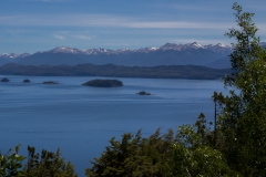 Bariloche - Park Llao Llao - im Park geht es zuerst steil bergauf