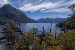 Bariloche - Park Llao Llao - fast am Ende wird es wieder flacher