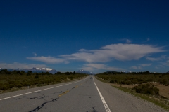 Straße der sieben Seen - Provinz Neuquén in Argentinien - gute Straße und gutes Wetter :-)