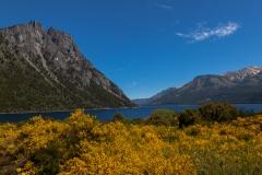Straße der sieben Seen - Provinz Neuquén in Argentinien - zuerst wieder der Lago Nahuel Huapi