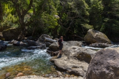 Straße der sieben Seen - Provinz Neuquén in Argentinien - immer schön aufpassen ;-)