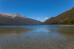 Straße der sieben Seen - Provinz Neuquén in Argentinien - erstmal reingehen und abkühlen