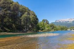 Straße der sieben Seen - Provinz Neuquén in Argentinien - Lago Villarino