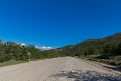 Ruta 63 zum Paso Córdoba, Argentinien - über 60km Schotterpiste