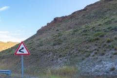 Ruta 63 zum Paso Córdoba, Argentinien -