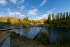 Hängebrücke über den Rio Limay, Argentinien - Höhenangst?