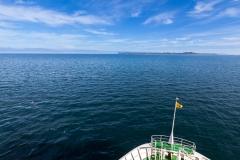 Der erste Teil der Reise durch den Golf von Ancud