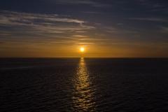 ca. 21:00 Uhr ging die Sonne dann auch langsam unter.