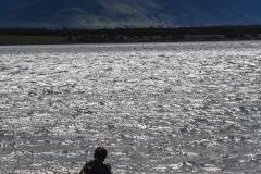 Puerto Natales - das Wasser hatte vielleicht so 7-8 Grad