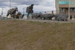 Punta Arenas - mal wieder ein Einwandererdenkmal