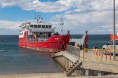 Magellanstraße - das Schiff, mit dem es zur Isla Magdalena ging