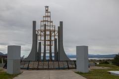 Ushuaia - Aussichtspunkt und Denkmal