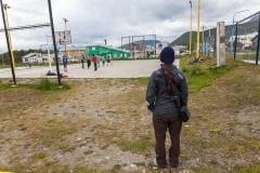 Ushuaia - es ist Sommer hier: unterschiedliches Kälteempfinden ;-)
