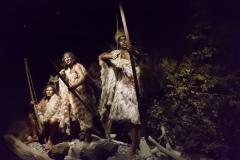 Ushuaia - Galeria Tematica Historia Fueguina - gelebt haben die von der Jagd