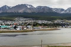 Ushuaia - Panorama von der Stadt