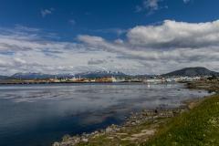 Ushuaia - Blick auf den Hafen