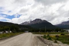 Ushuaia - Blick auf die Berge