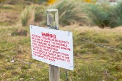 Falklandinseln - Rund um Stanley - nur hingehen ist wegen der Mienengefahr keine gute Idee