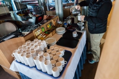 Ocean Diamond - Kaffee und Tee im Club