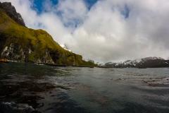 Blick auf die Right Whale Bay