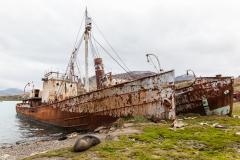 Grytviken - noch eine alte Walfang-Station