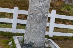 Grytviken - Das Grab von Sir Ernest Henry Shackleton