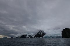 Point Wild, Elephant Island: einen Gletscher gibt es auch