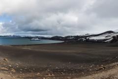 Deception Island: gute Aussichten