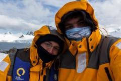 Half Moon Island: das Foto, damit wir sagen können, es war kalt ;-)