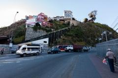 Einer der Aufzüge in Valparaiso