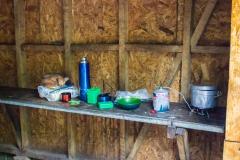 Torres del Paine: Kochen am Zeltplatz