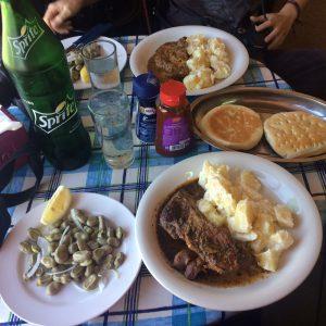 Ein chilenisches Festmahl vom Grill.