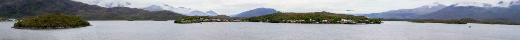 Panorama von Puerto Eden