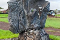 Osterinsel - Hanga Roa: auch auf dem Weg in das Zentrum