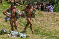"Tapati Rapa Nui - ""Triathlon"" am Rano Raraku"