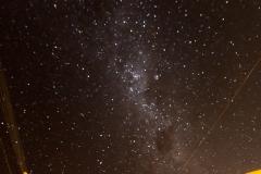 Osterinsel - Sternenhimmel über unserem Hostel