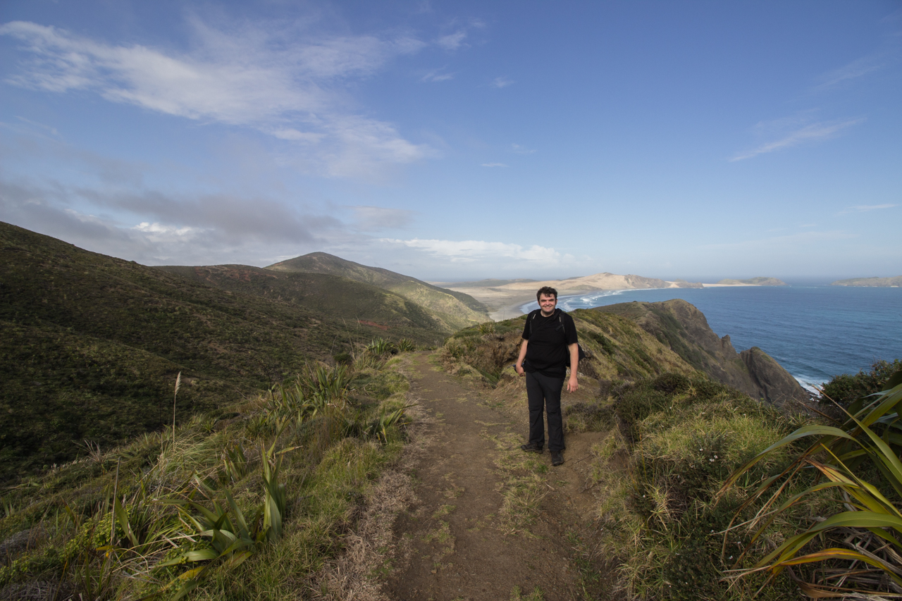 Neuseeland - Nordinsel - Northland - am Cape Reinga - Wanderweg zum Te Werahi Beach