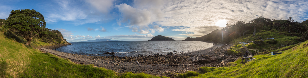 Neuseeland - Great Barrier Island - Johnsons Bay