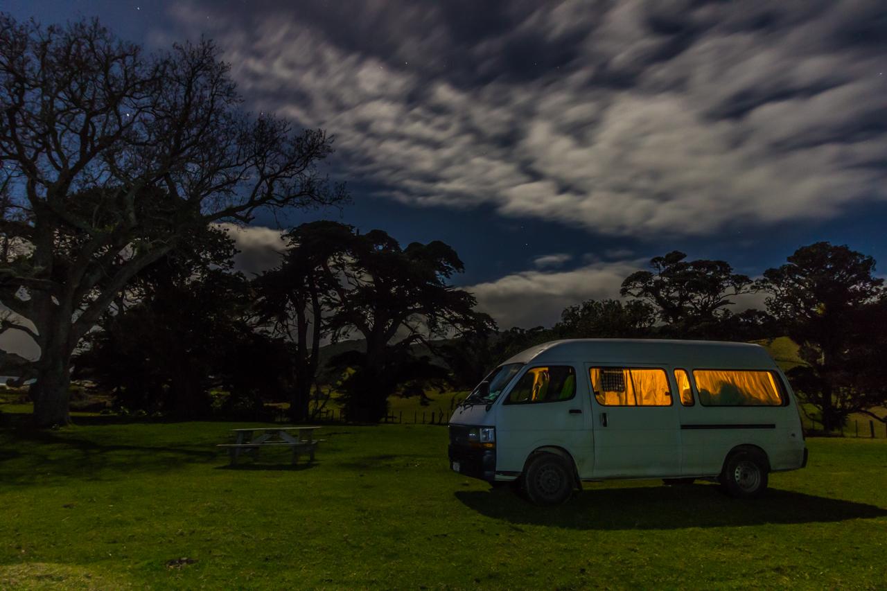 Neuseeland - Great Barrier Island - Harataonga Campingplatz