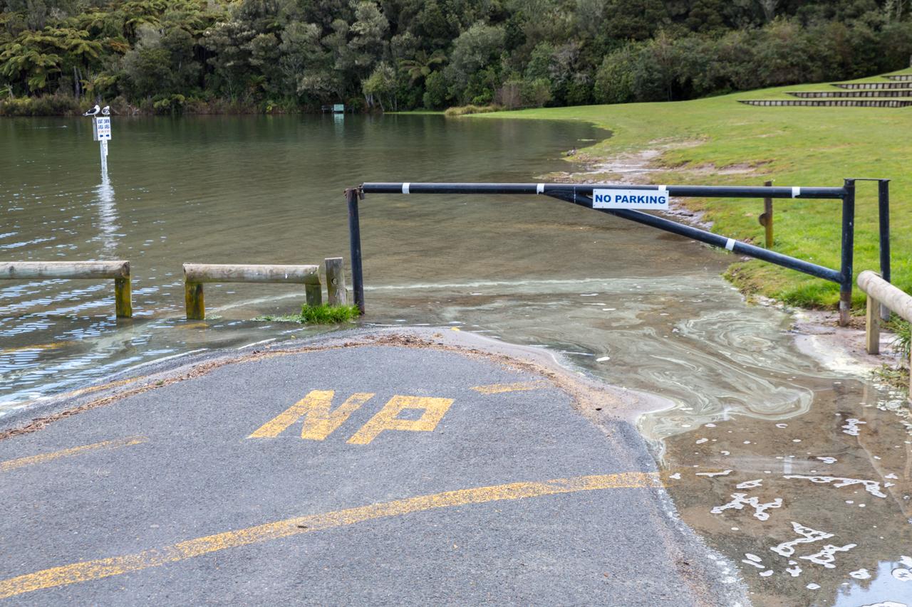 Neuseeland - Nordinsel - Rotorua - Blue Lake
