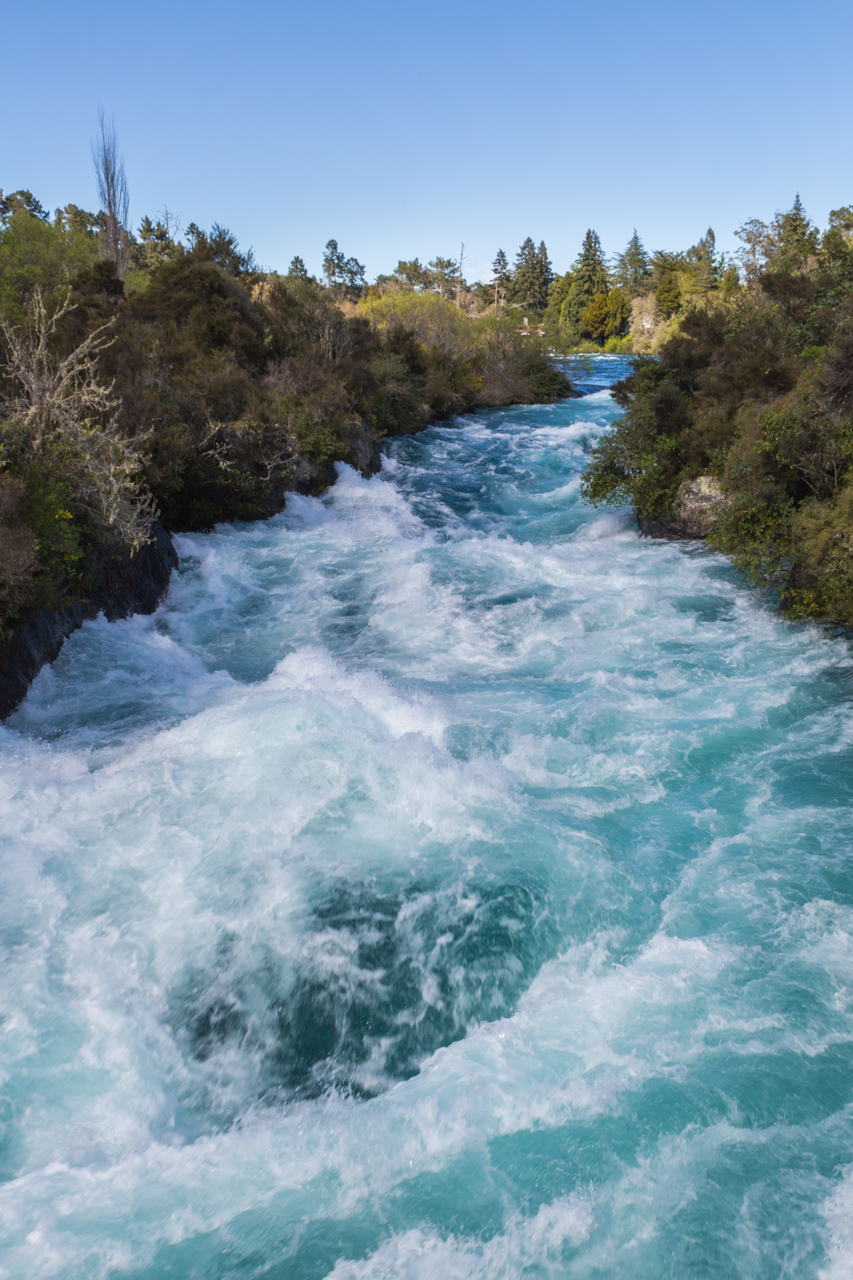 Neuseeland - Nordinsel - Taupo - Huka Falls
